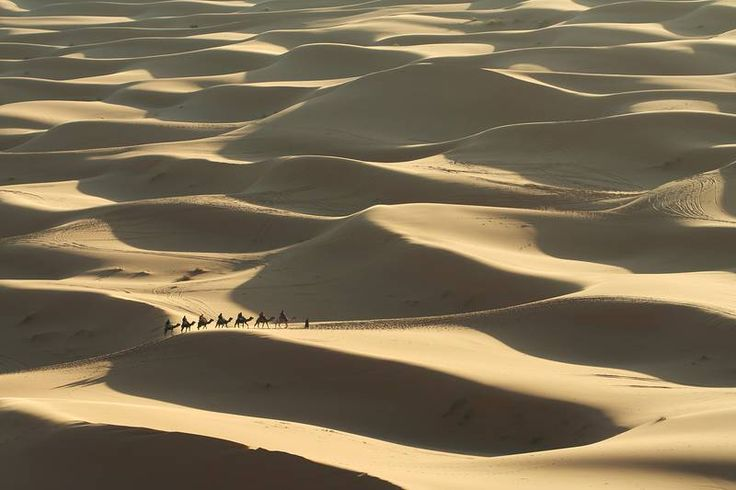 Hiekkadyynimaisemia Marokon aavikolla. #Marokko #Agadir #Aurinkomatkat #Morocco