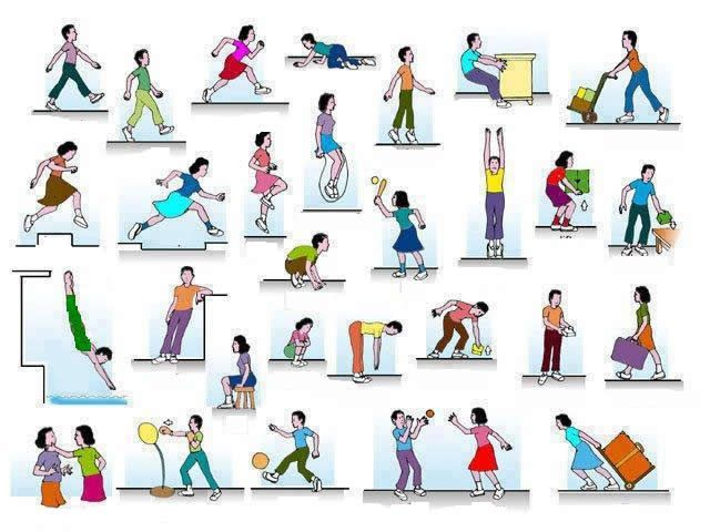 Exercise Action Verbs Grammar More on Diets And Exercise at http://TheDietSite.org #diets #exercise #weightloss