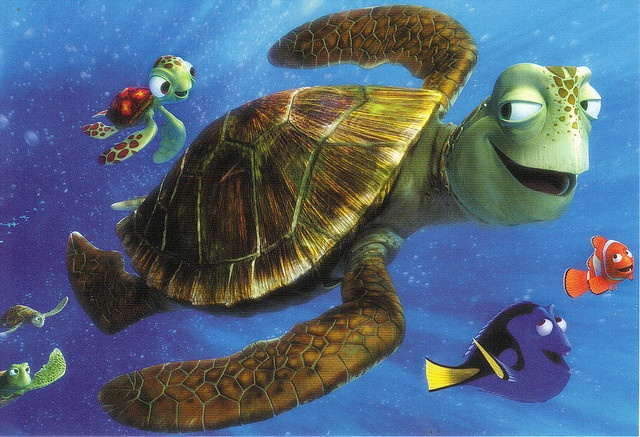 Finding Nemo :-)