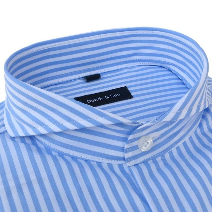 Extreme Cutaway Big Stripes Shirt