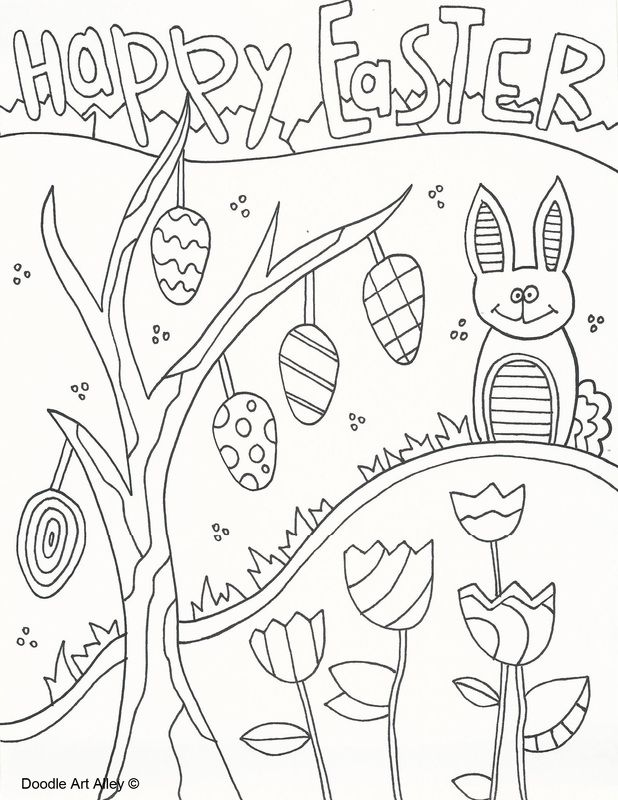 225 Best Spring Coloring Pages Images On Pinterest