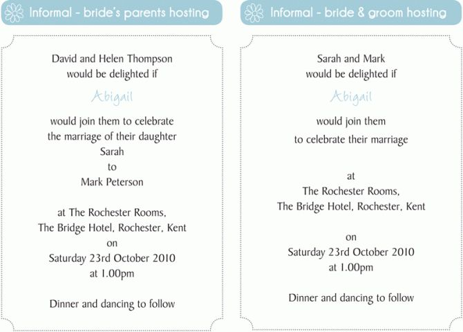 Wedding Invitation Samples Uk: 35 Best Wedding Invitation Wording` Images On Pinterest
