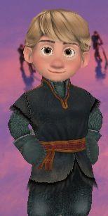 Little Kristoff from the new Disney Frozen App 'Free Fall'