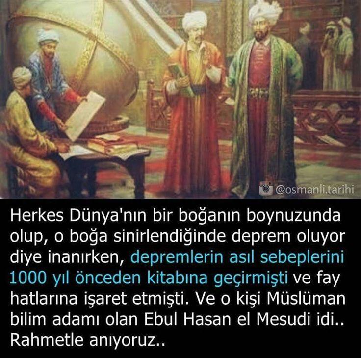 Müslüman bilim adamı Ebu'l Hasan el Mesudi.. #bilim #Osmanlı