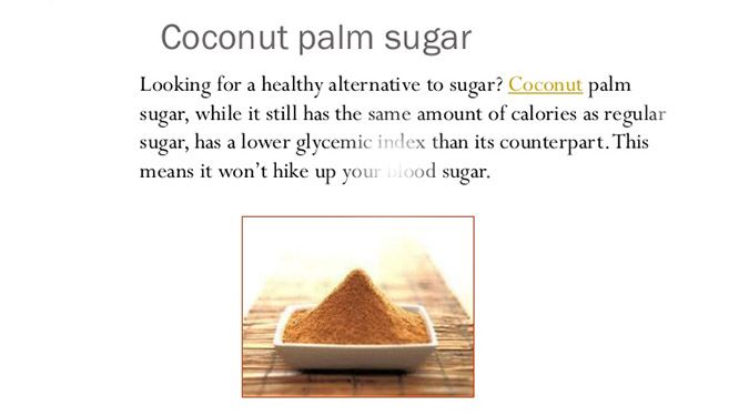 Replacing white #sugar with #palmsugar will definitely help prevent or postpone onset of #diabetes