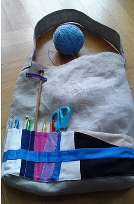 Gray's tote is finished!