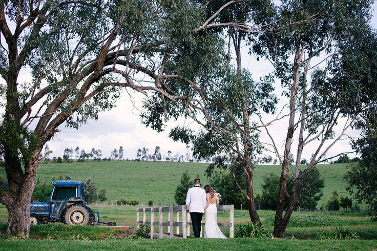 Yarra Valley Farm Wedding ~ Foto Jojo wedding photography ~