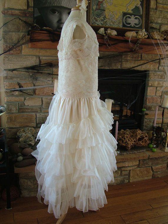 1920s Vintage Inspired Wedding dress by RetroVintageWeddings, $715.00