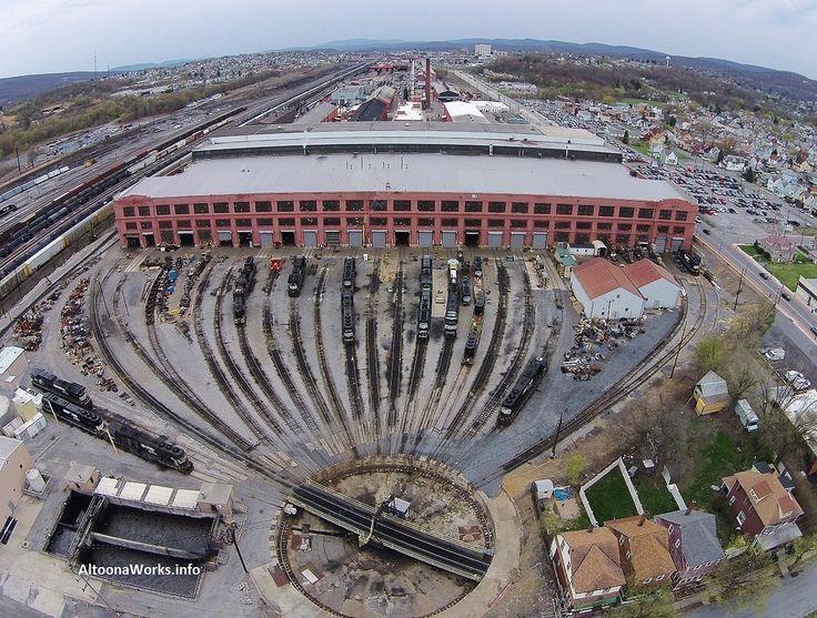 Miscellaneous photos from the former Pennsylvania Railroad Juniata Shops