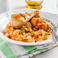Een lekkere slanke maaltijd voor maar 28 points!!!!!(voor 4 personen dan=7 points per persoon met de rijst en salade inbegrepen)