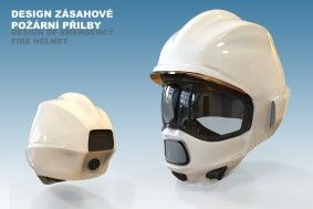 Kategorie Průmyslový design - 3. místo - Lukáš Oujezdský - Design zásahové požární přilby, industrial design, Intervention Fire Helmet, zdroj: Talent designu, ZLIN DESIGN WEEK #design #czechdesign
