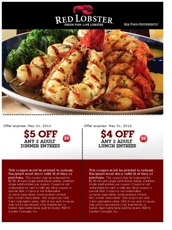 graphic relating to Red Lobster Printable Menu known as Pink lobstercoupon : Perfect napa vineyard excursions and tastings