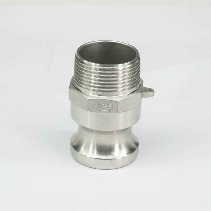 1 1 4 Bsp Male Thread 304 Stianless Steel Type F Plug Camlock Fitting Cam And Groove Coupling Stainless Steel Types Steel Fittings