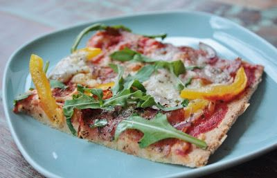 Linda-Maries LCHF: LCHF-Pizza