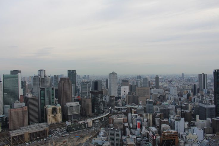 Osaka, view from above.