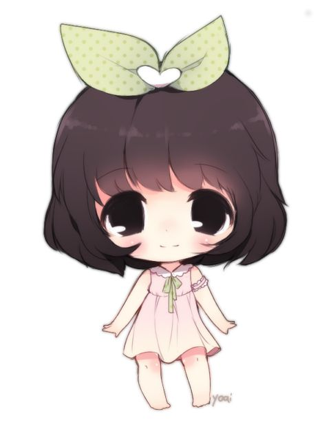how to draw cute chibi characters
