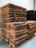 Wholesale export Company for VINTAGE leather matras  from Holland / Europe shipping worldwide .
