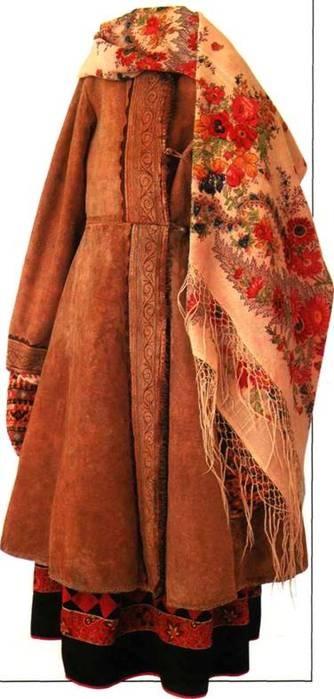 Swan Song reenactor: Russian folk warm clothing. Books on Russian folk costume.