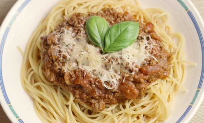 Healthy 'Slimming World' spag bol recipe. You CAN have pasta, red meat and cheese and still LOSE weight!!!