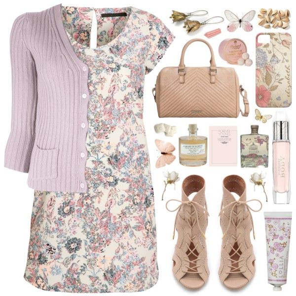 """""""Cotton Candy Friday..."""" by helen-shesterneva on Polyvore"""