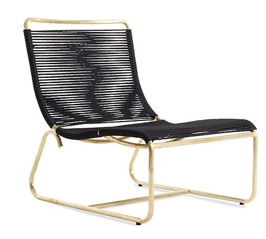 Walter Lamb Rope And Brass Outdoor Furniture Hot Home