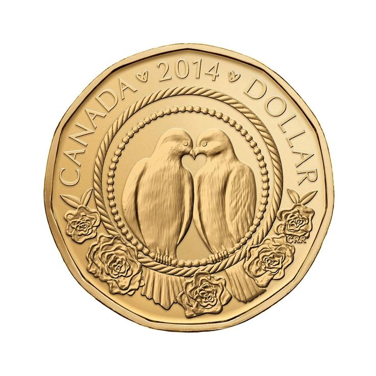 Royal Canadian Mint Wedding Coin. A unique keepsake.