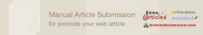 Article Submission gives multiple benefits to the website owners, firstly it helps customers to understand the product in depth, it acts as a social medium to write about the product or services offered by the ebusiness owner, Secondly, it helps to get a quality link back from relevant content that gives better ranking on search engine, finally the articles gets indexed and rank quickly on major search engines.$19.00