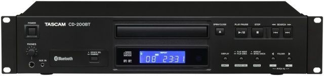 Tascam CD-200BT Pro CD player with Blue tooth