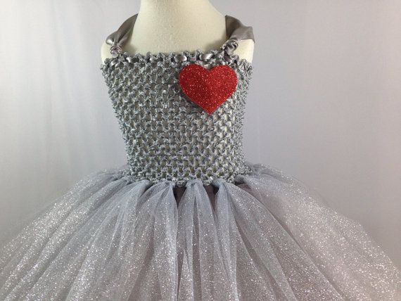 Tin Man Girls Costume Tutu Dress with Removable Heart and by Funnel Hat by JustaLittleSassShop, Starts at $60.00