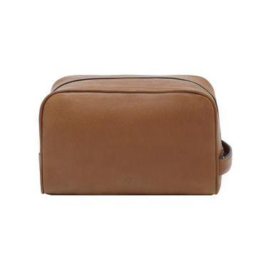 Mulberry Gift Kaleidoscope | Oak - Wash Case in Oak Natural Leather