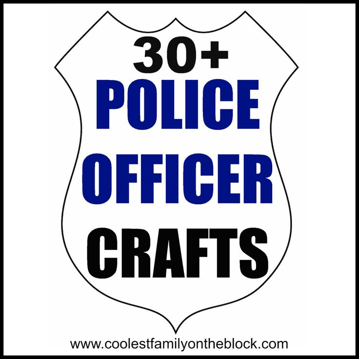 May 11-17, 2014 is National Police Week! National Tell a Police Officer Thank You Day is in September! Here are some great police crafts and activities you can do with the kids! These crafts are gr...