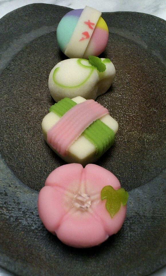 Japanese Sweets from Tea Culture