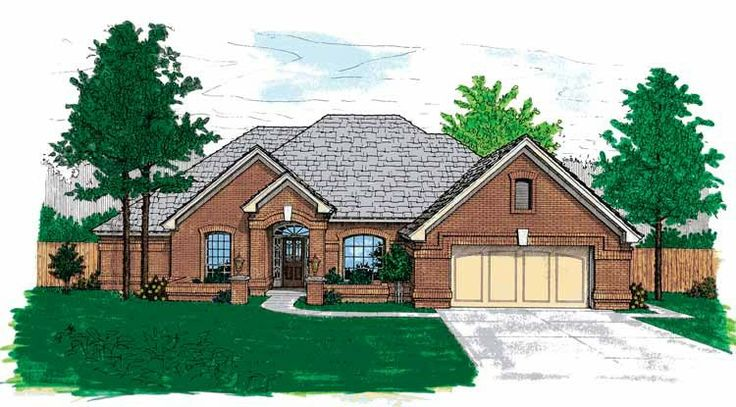 Eplans new american house plan single story traditional for Traditional american home