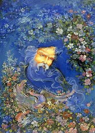 Iran Politics Club: Mahmoud Farshchian Biography & Art, Persian Miniature Painting - Ahreeman X