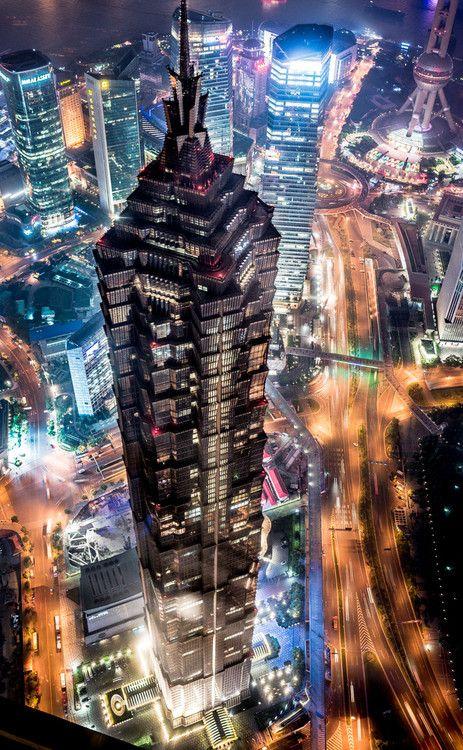 Jin Mao Tower, Shanghai   China (by TAKE MOON)