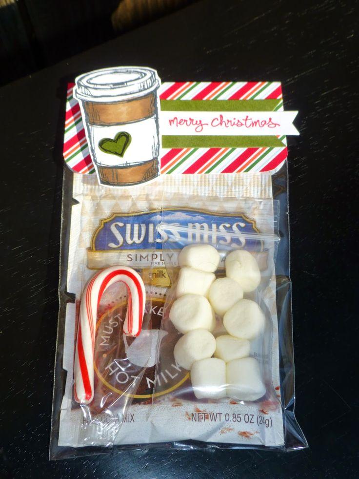 My Stampinu0027 Box Cocoa Treat Holders 170