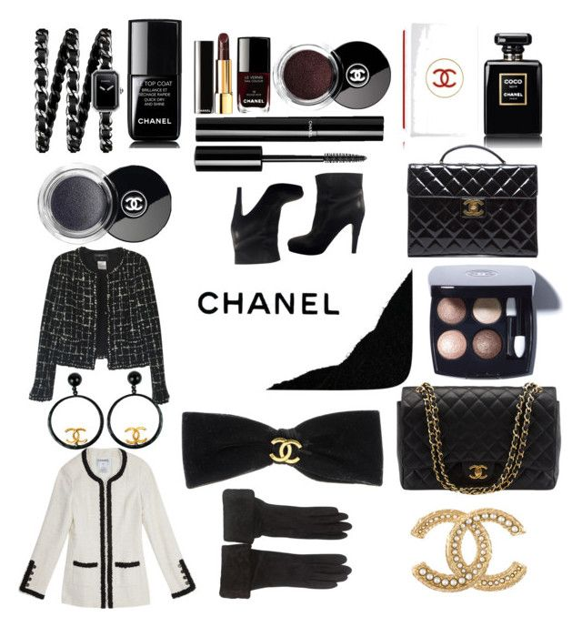 """set #21 (Chanel) by uberwine"" by uberwine on Polyvore featuring Chanel, women's clothing, women, female, woman, misses and juniors"