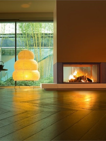 Marble #Fireplace Mantel GAUDI' by MCZ GROUP #interiors #winter #lamp