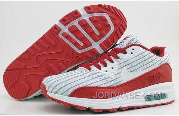 https://www.jordanse.com/nike-air-max-lunar-90-men-white-red.html NIKE AIR MAX LUNAR 90 MEN WHITE RED Only 79.00€ , Free Shipping!
