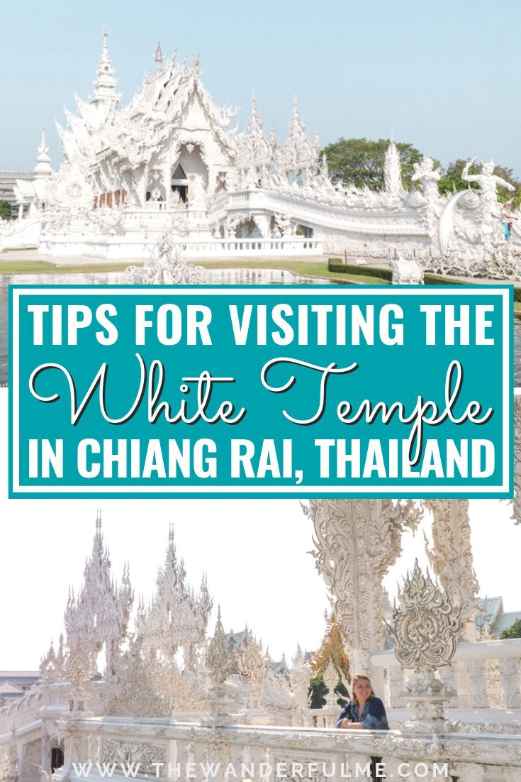 Visiting the White Temple in Chiang Rai, Thailand