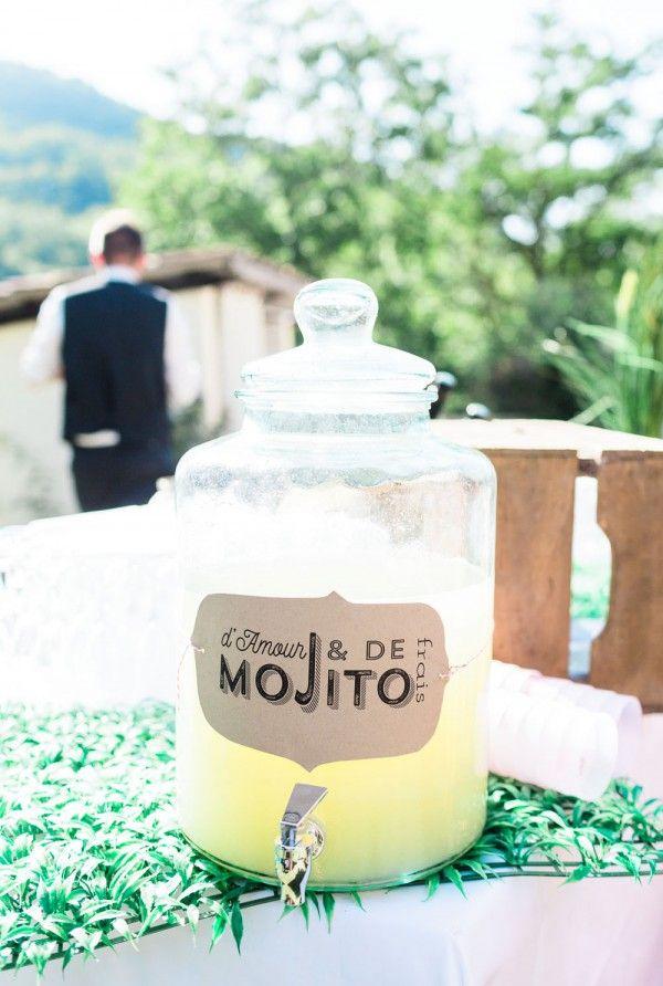 Bombone en verre pour cocktail