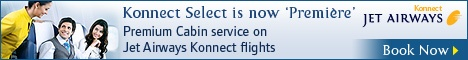 Booking Jet Konnect air tickets online