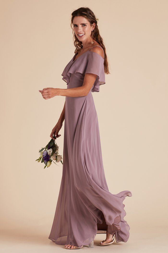 8a84a60396f Jane Convertible Dress in Mauve by Birdy Grey. Ruffles