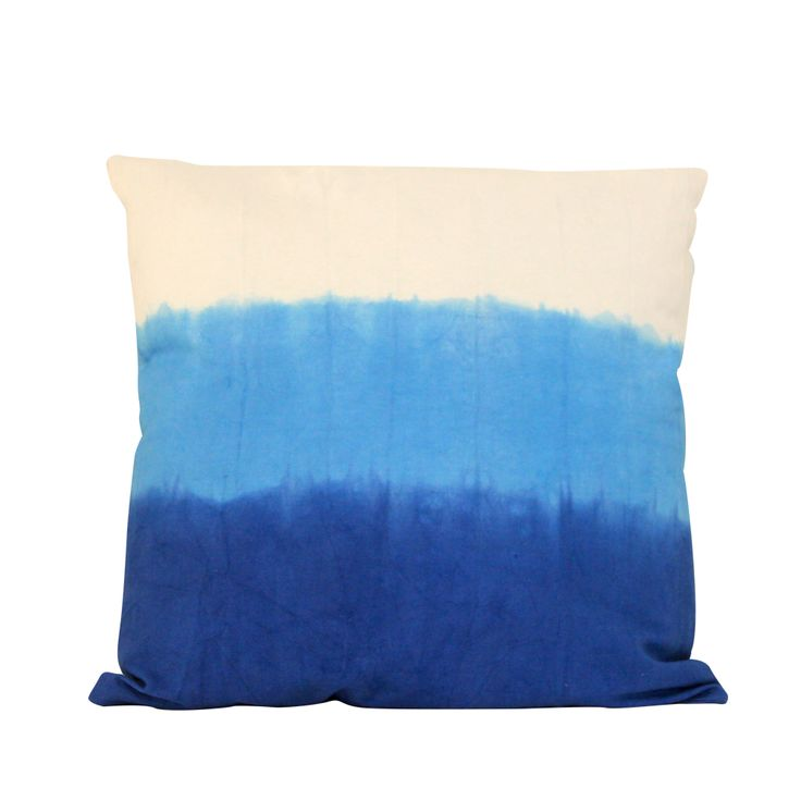 BLUE OMBRE pillow #ombre #blue #summer #pacificbluescollection #cobalt