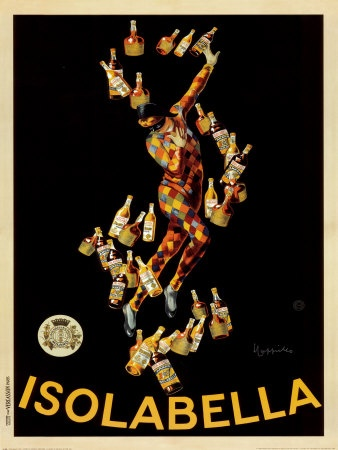 Leonetto Cappiello - My favorite Artist. I have this poster (36 X 60) framed in my living room!