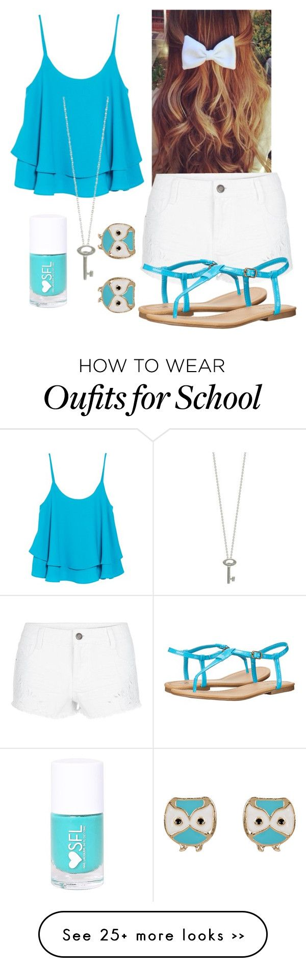 """BACK TO SCHOOL LOOK"" by shayat2020 on Polyvore"