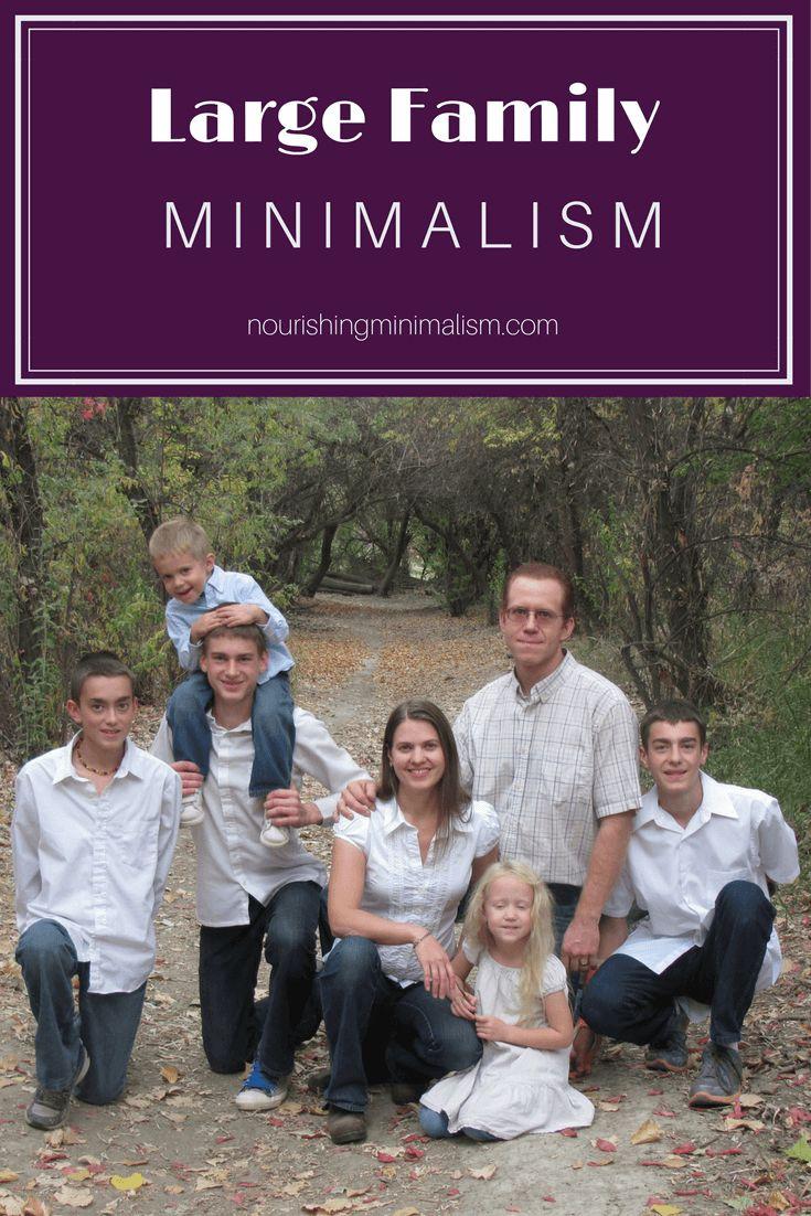 397 best nourishing minimalism images on pinterest for Minimalist family