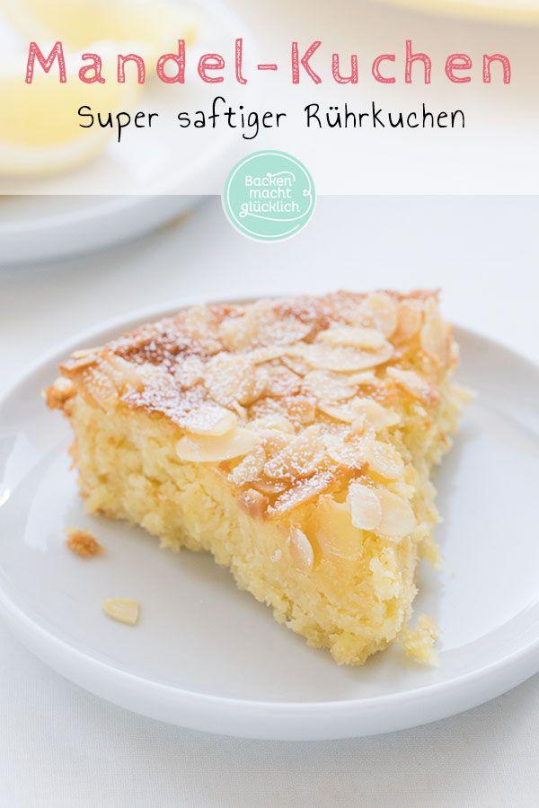 Zitronen Mandel Kuchen Rezept In 2020 Zitronen Kuchen Kuchen Kuchen Ohne Mehl