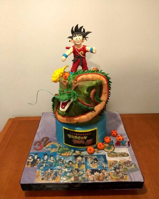 LAS DULCES TARTAS DE GLORIA:  Cake Bola de Drac