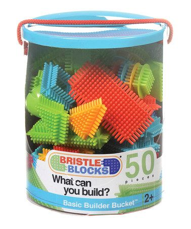 Take a look at this Bristle Blocks Bucket by Battat on #zulily today!